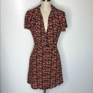 New Urban Outfitters floral grunge soft girl dress